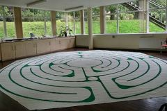 Woodbrooke Canvas Labyrinth